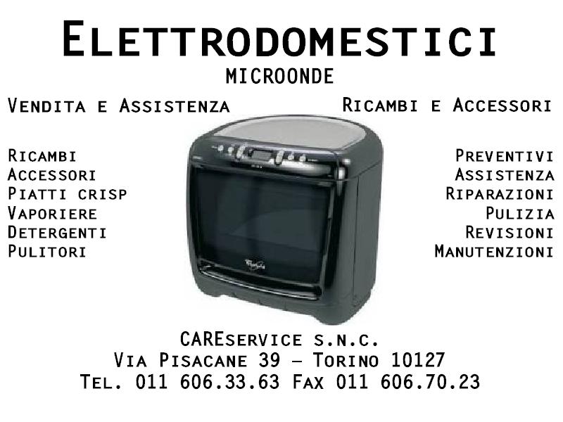 Assistenza MICROONDE Torino   Assistenza Elettrodomestici Torino