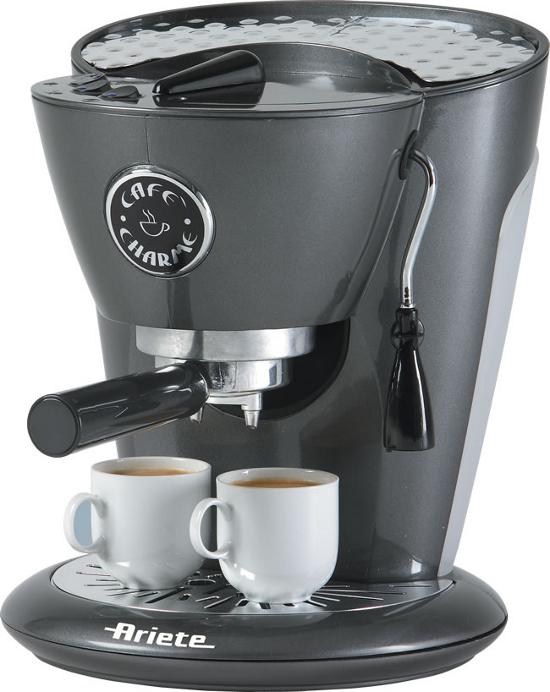 Ariete macchina caff espresso caf charme bianca for Ariete elettrodomestici