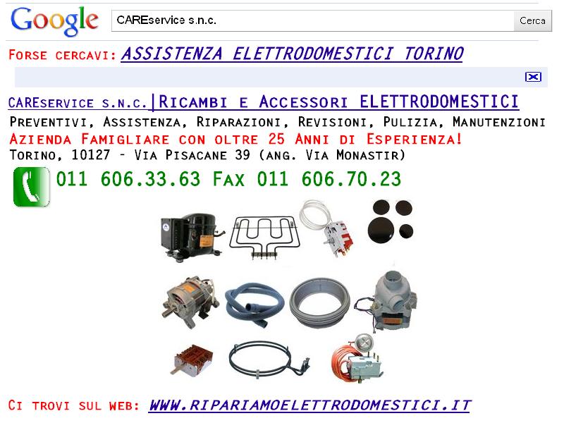 Ricambi Elettrodomestici Torino