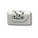 67030280 - Gruppo epilatore standard bianco 40 pinzette rotanti con sistema Soft Lift Tips