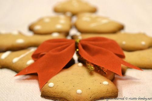 Biscotti natalizi profumati