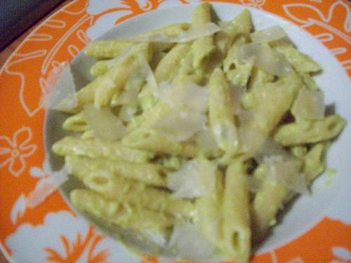 Pennette in salsa di zucchine