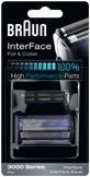 Cs, CAREservice comp-high-performance-parts-interface-foil-cutter-3000-series-bl BRAUN | Rasoi [Ricambi e Accessori] Braun Rasoi  Testina Rasoio Lamina Foil & Cutter Foil Coltello Cassette