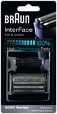 Cs, CAREservice comp-high-performance-parts-interface-foil-cutter-3000-series-bl0 BRAUN | Rasoi [Ricambi e Accessori] Braun Rasoi  Testina Rasoio Lamina Foil & Cutter Foil Coltello Cassette