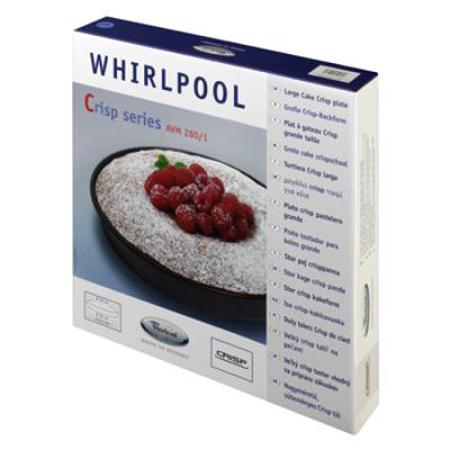 Cs, CAREservice whirlpool-accessori-microonde-8 WHIRLPOOL   Piatto Crisp Microonde AVM280 Whirlpool  Whirlpool piatto crisp microonde elettrodomestici