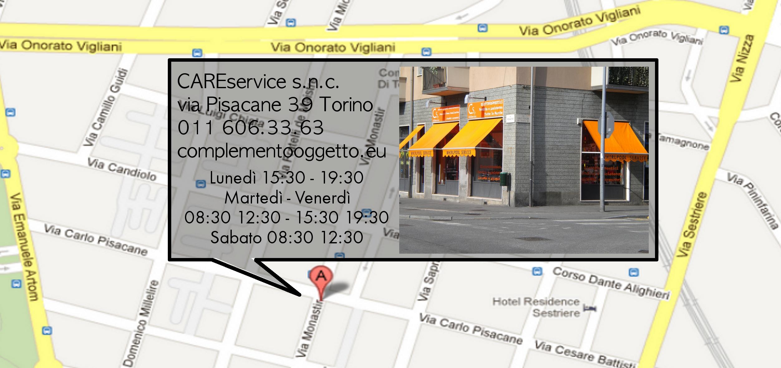 Cs, CAREservice locandina-retro Centro Assistenza Bosch Torino Accessori Ricambi  Bosch