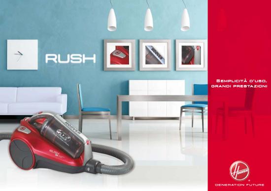 Cs, CAREservice hoover-aspira-brochure-rush HOOVER | RUSH [BROCHURE] Brochure Hoover  Rush catalogo Brochure