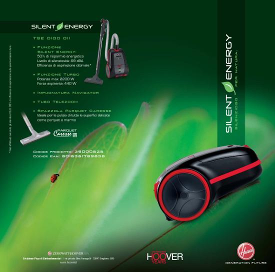 Cs, CAREservice hoover-aspira-brochure-silent HOOVER | SILENT [BROCHURE] Brochure Hoover  Silent catalogo Brochure