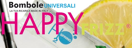 Cs, CAREservice bombole-happy-frizz HappyFrizz | Ricarica per gasatori CO2 H2O Spring - UNIVERSALI HappyFrizz  Ricariche H2O Gasatori CO2 Bombole