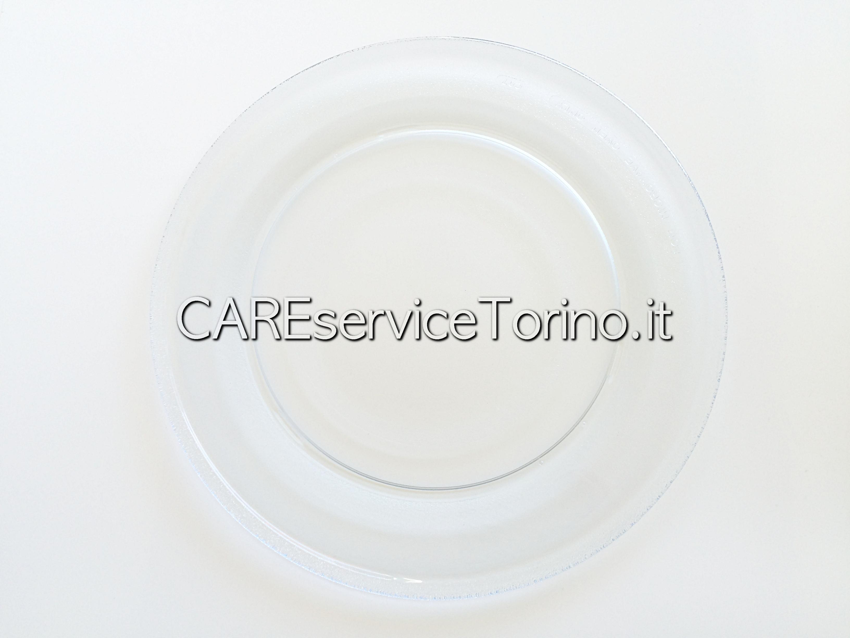 Cs, CAREservice 00609852-2 MICROONDE | Piatto [Cod.00609852] Microonde Piatti Vetro  00609852