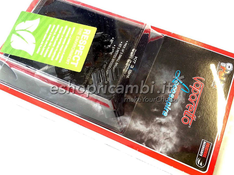 Cs, CAREservice PAEU0250-3 Kit 3 Spazzolini in nylon per Vaporetto e Lecoaspira [PAEU0250] Polti Pulizia  PAEU0250