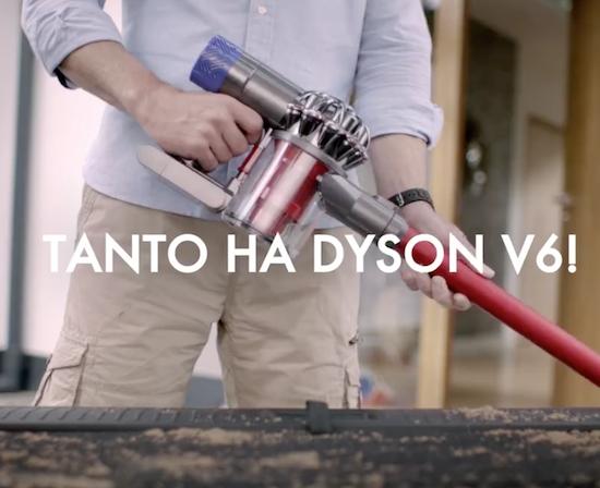 Cs, CAREservice dyson-v6-al-mare Dyson V6 - Tempo di vacanze, tutti al mare! [video] Dyson V6  V6