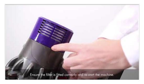 Cs, CAREservice v10-led Dyson V10 - Conoscere i segnali visivi dell'apparecchio [video] Dyson V10  V10